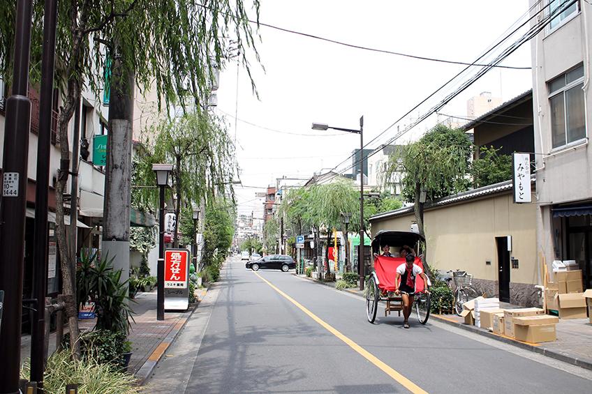 浅草通り界隈