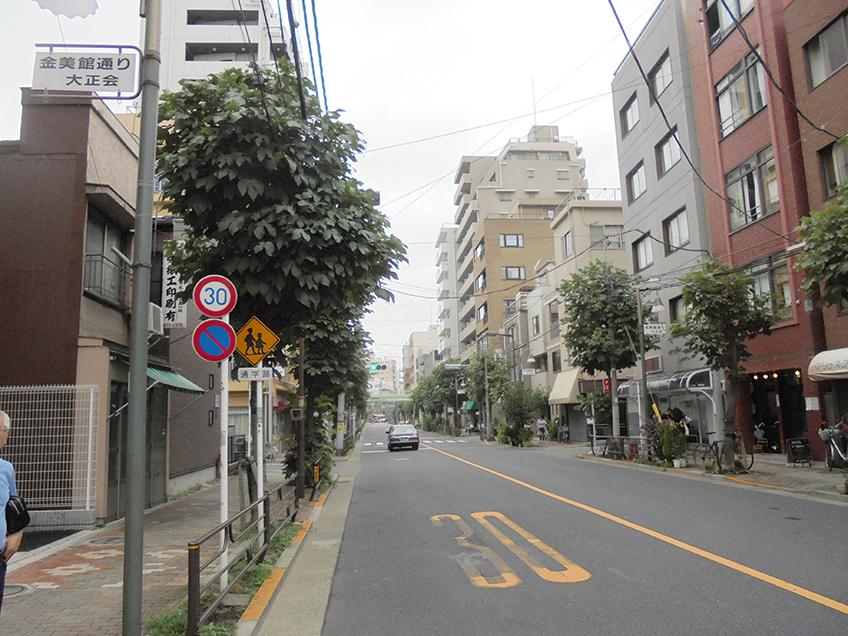 柳通り・富士通り界隈